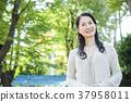 女性中年生活休閒 37958011
