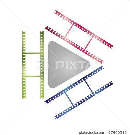 Video, photography, multimedia, player, logo 37960516
