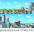 城市風光 城市景觀 市容 37961391