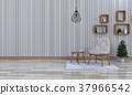 3D rendering of interior modern living room  37966542