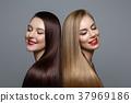 female, woman, blond 37969186