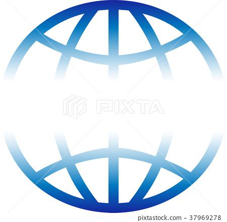 Earth, globe, world globe, logo 37969278