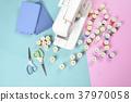 จักรเย็บผ้า,มีสีสัน,สีสัน 37970058