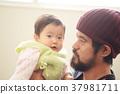 여성, 아기, 부모와 자식 37981711