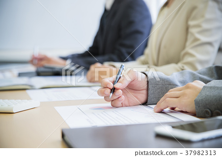 Meeting personal computer meeting office business 37982313