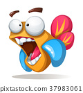 fish, crazy, cartoon 37983061