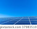 태양광 패널, 대형 태앙광발전, 대규모 태앙광발전 37983510