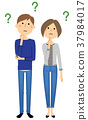 person, heterosexual couple, youthful 37984017