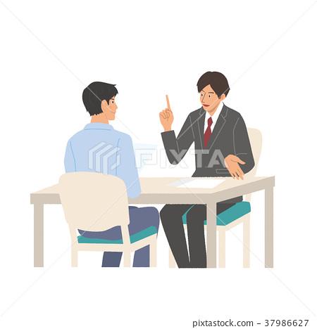 会议的商人 37986627