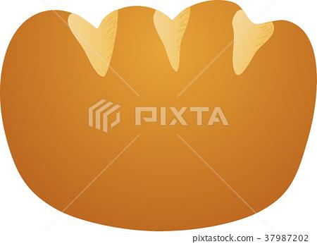 奶油面包 37987202