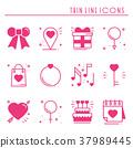 love, heart, icon 37989445