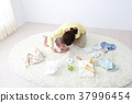 Baby and baby goods and mother 37996454