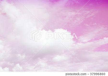 Pink sky pattern background 37996860