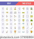 icon golf set 37998864