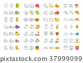 icon, food, set 37999099