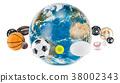 sport earth globe 38002343