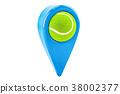 tennis pointer 3d 38002377