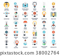 Light bulbs icons 38002764