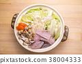 食物 日式料理 鍋裡煮好的食物 38004333