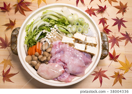 食物 日式料理 鍋裡煮好的食物 38004336
