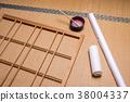 ประตูเลื่อนกระดาษ,สถาปัตยกรรมญี่ปุ่น,ตกแต่งภายใน 38004337