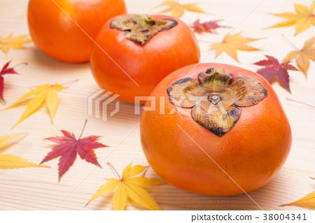 日本柿 甜柿 柿子 38004341