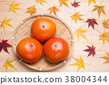 พลับญี่ปุ่น,ผลไม้,อาหาร 38004344