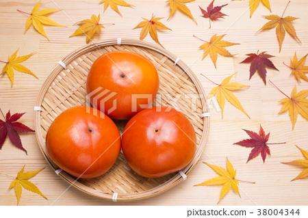 日本柿 甜柿 柿子 38004344