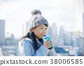 여성, 여자, 커피 38006585