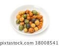 과자, 스낵, 콩 38008541