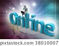 Online job concept 38010007