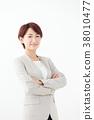 비즈니스 미들 여성 38010477
