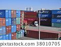 컨테이너, 트레일러, 트레일러 트럭 38010705