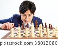 20年輕的商業象棋,象棋,遊戲,賭博 38012080