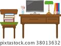 책상과 의자 38013632