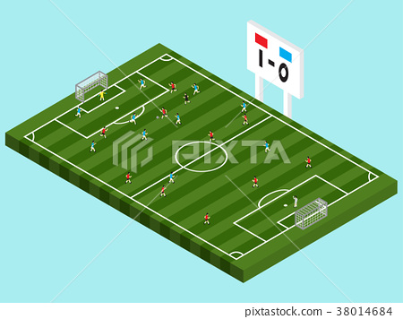Soccer Competition (Isometric) 38014684
