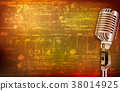 background microphone abstract 38014925