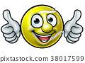 Tennis Ball Mascot 38017599