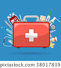 First Aid Kit with Medications 38017839