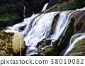 Golden waterfall 38019082