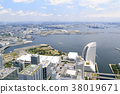 도시 풍경 (카나가와, 랜드 마크 타워, 초여름 봄) 38019671