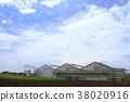 논밭, 전원, 시골 38020916