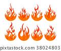불, 불꽃, 화재 38024803