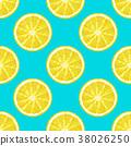 vector lemon seamless 38026250