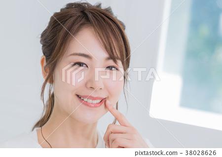 年輕女性,肖像,美的形象 38028626