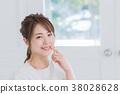年輕女性,肖像,美的形象 38028628