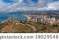 North Benidorm with high buildings and sea 38029548