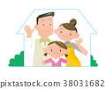 家庭,家庭形象。 38031682