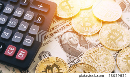 US dollar and bitcoin 38039632