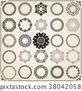 round circle frame 38042058